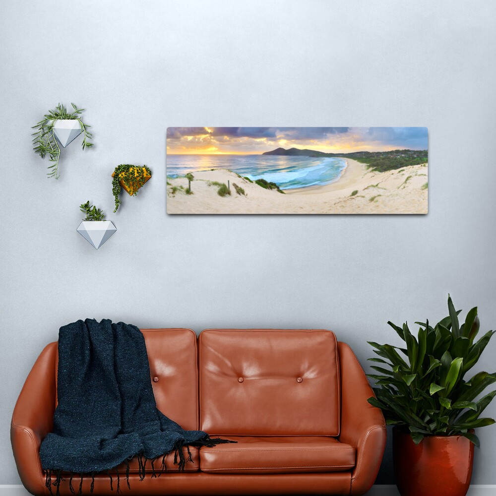 Forster Beach, New South Wales, Australia Metal Print
