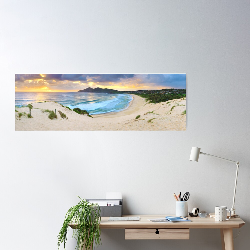 Forster Beach, New South Wales, Australia Poster