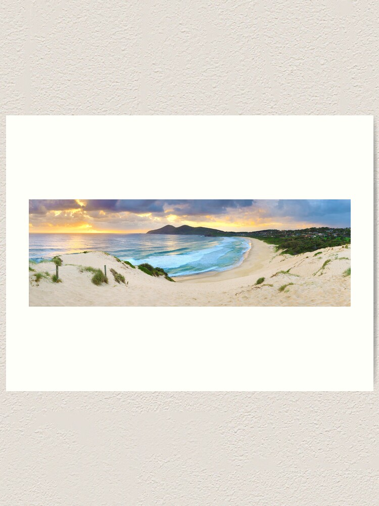 Alternate view of Forster Beach, New South Wales, Australia Art Print