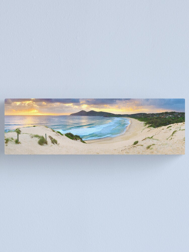 Alternate view of Forster Beach, New South Wales, Australia Canvas Print