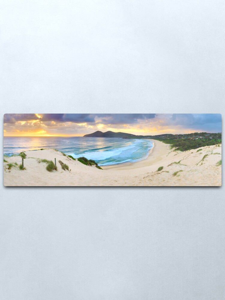 Alternate view of Forster Beach, New South Wales, Australia Metal Print
