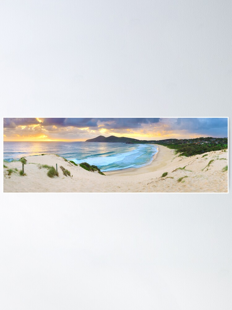 Alternate view of Forster Beach, New South Wales, Australia Poster