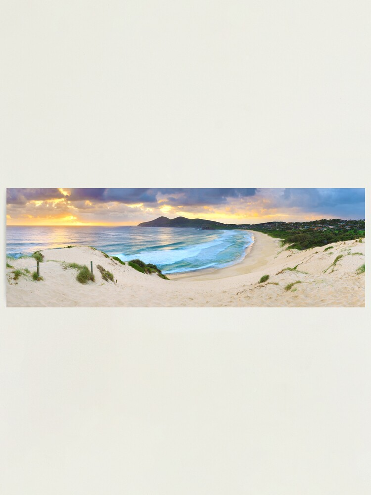 Alternate view of Forster Beach, New South Wales, Australia Photographic Print