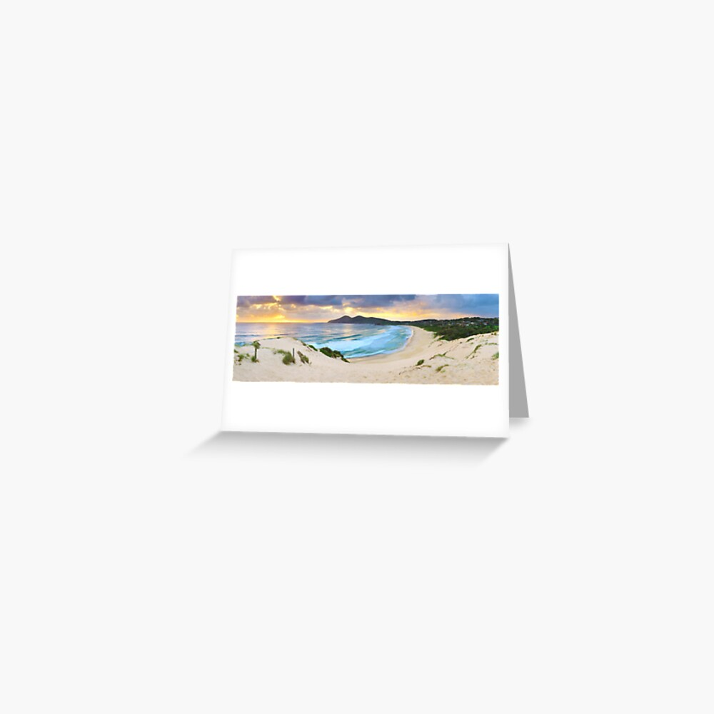 Forster Beach, New South Wales, Australia Greeting Card