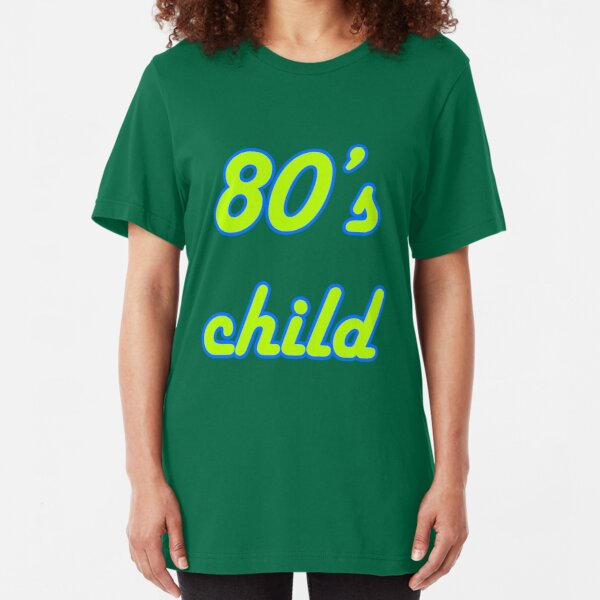 80's Child Slim Fit T-Shirt