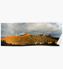 Southwest Red Rock panorama Poster