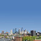 Minneapolis Minnesota downtown by Jeff Hathaway