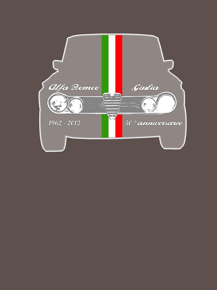 Alfa Romeo Giulia 50  Anniversario | Unisex T-Shirt