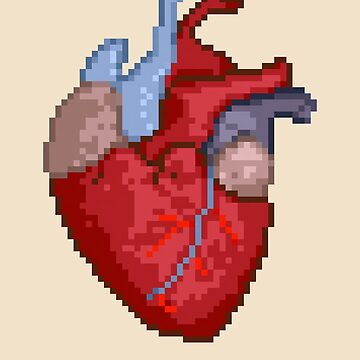 16-Bit Troubles for an 8-Bit Heart by fourblackbirds