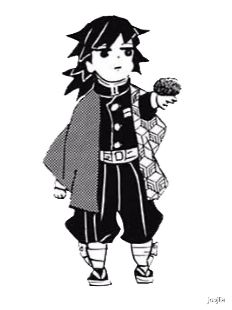Giyuu Demon Slayer Manga Cap by joojlia