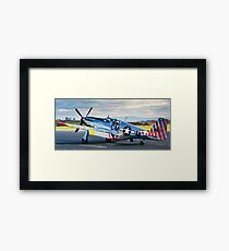 P-51 Mustang Betty Jane Framed Print