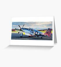 P-51 Mustang Betty Jane Greeting Card