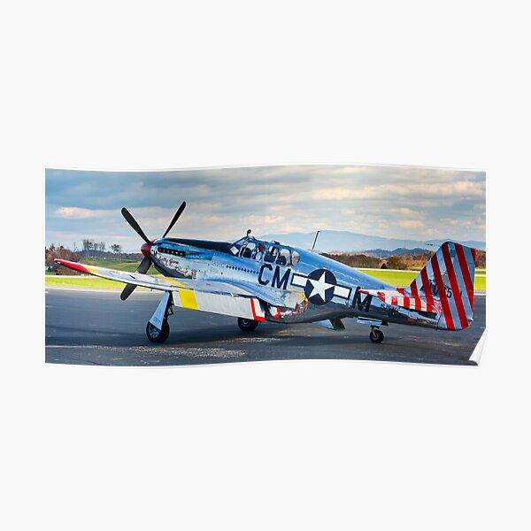 P-51 Mustang Betty Jane Poster