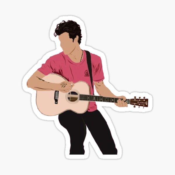 SHAWN - GUITAR Sticker