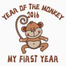 Born 2016 Year Of The Monkey by ChineseZodiac