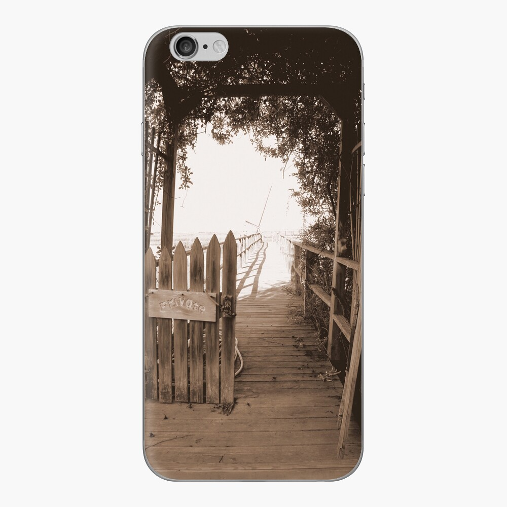 Private Pier* iPhone Skin