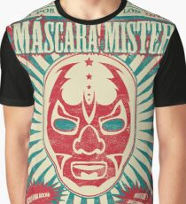 The Mysterious Mask Graphic T-Shirt