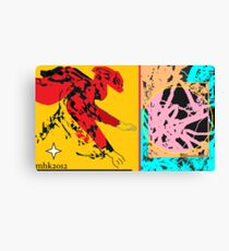 catching fire in midstream  Canvas Print