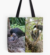 Not yawning — hungry! Tote Bag