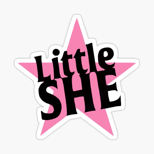 Little She Gorillaz Sticker