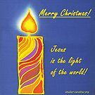 Christmas Card - Light of the World by CarolineLembke