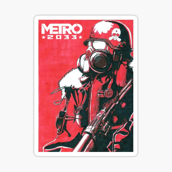 Metro 2033 Sticker