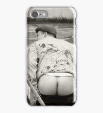 Hocking's arse iPhone Case/Skin