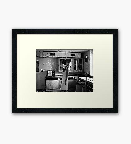 Abandoned Psychiactric Hospital, USA Framed Print