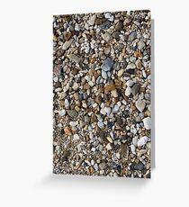 Greek Pebbles Greeting Card