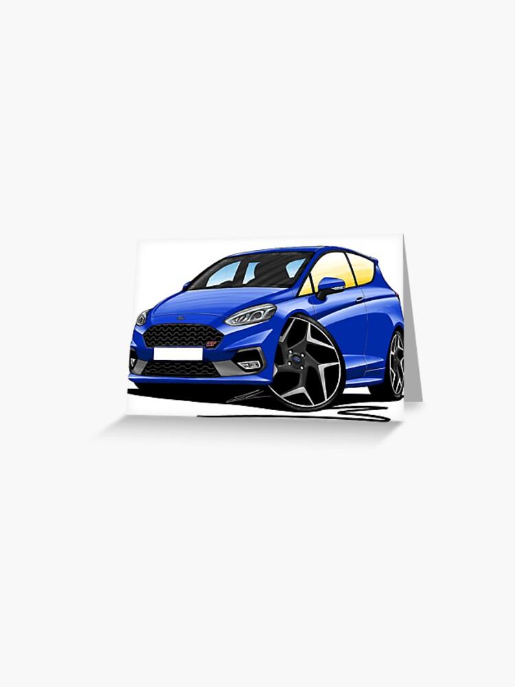 Caricature Car Art MUG Ford Fiesta Mk7
