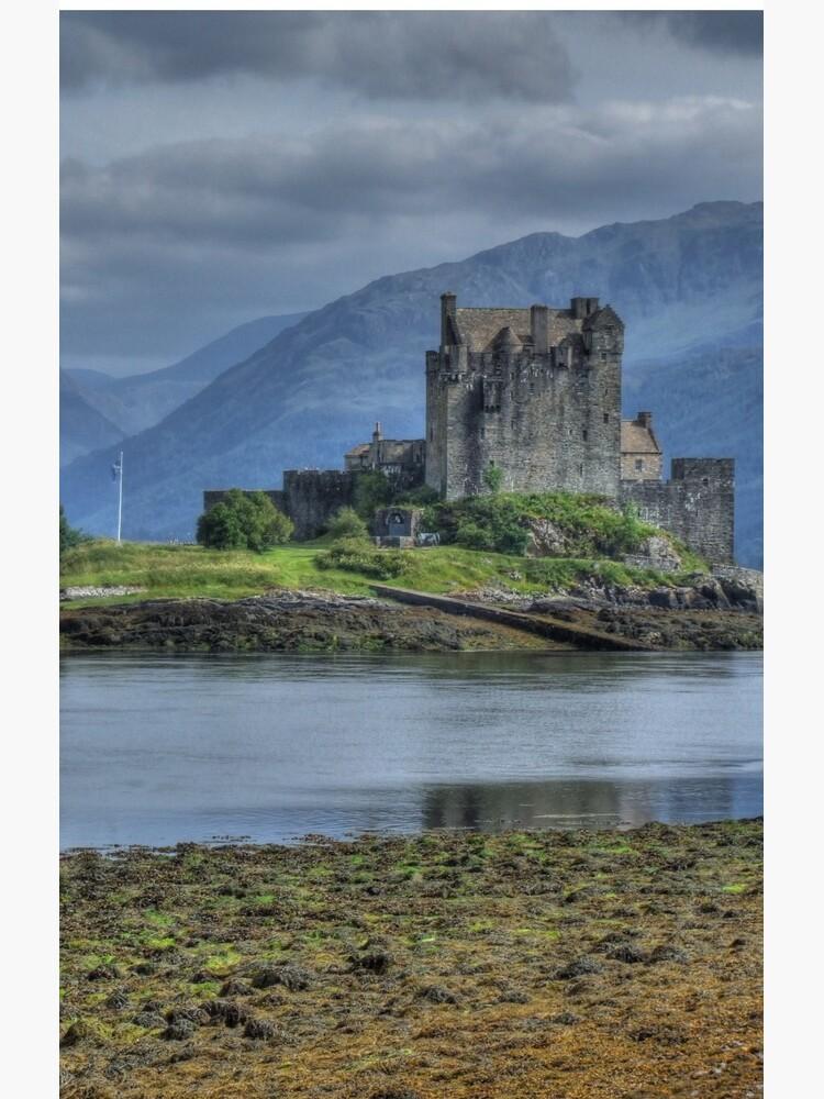 Eilean Donan Castle in the Highlands of Scotland by goldyart