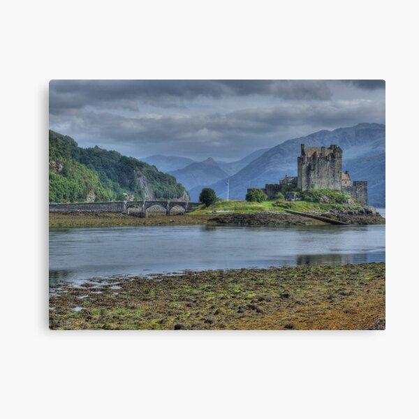 Eilean Donan Castle in the Highlands of Scotland Canvas Print