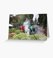 The Train Greeting Card