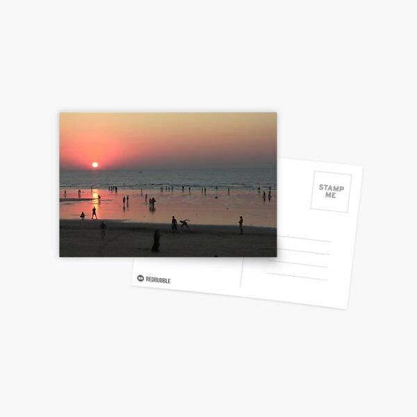 Sunset at the Beach - Simple Joy Postcard
