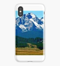 The Sawtooths iPhone Case