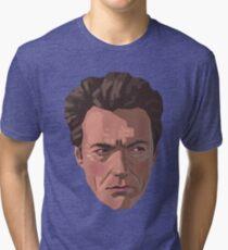 Shifty-Eyed Clint Tri-blend T-Shirt