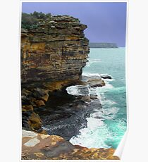 Yallingup Coastline, Western Australia Poster