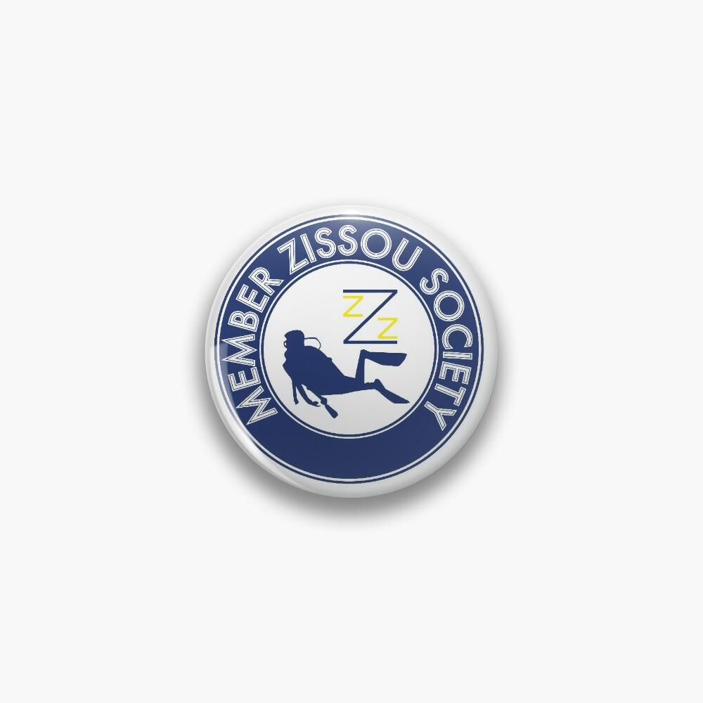 Member Zissou Society (detailed) Pin