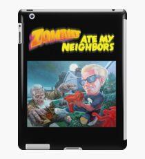 Zombies ate my Neighbors  iPad Case/Skin