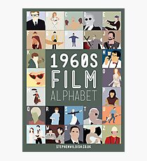 1960s Film Alphabet Photographic Print