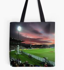 Sunset at Bellerive Oval Tote Bag