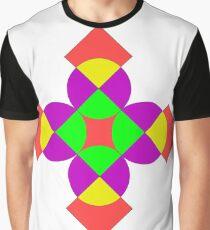 SQUARES AND CIRCLES Graphic T-Shirt