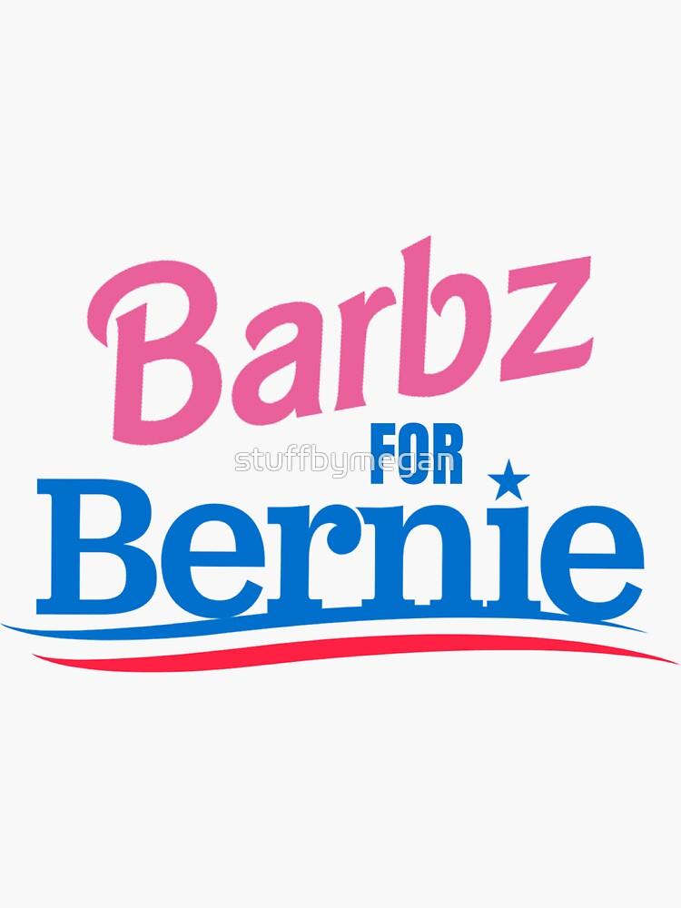 Barbz For Bernie by stuffbymegan