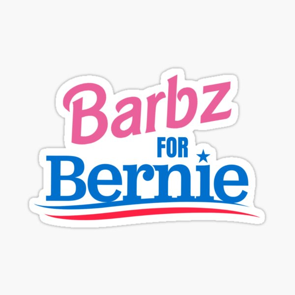Barbz For Bernie Sticker