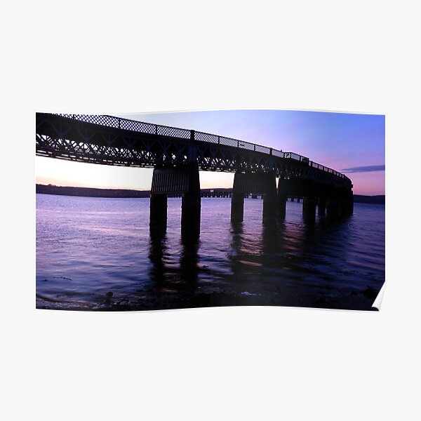 The Tay Rail Bridge Poster