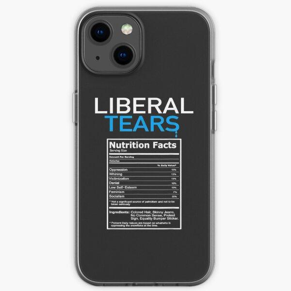Liberal Tears Anti Liberal Pro Trump Republican Gift iPhone Soft Case