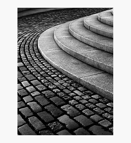 Setts on the Law Photographic Print