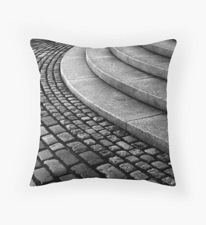 Setts on the Law Throw Pillow