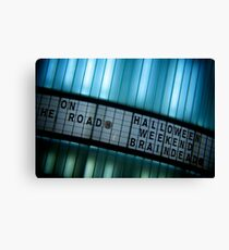 Forthcoming Attractions Canvas Print