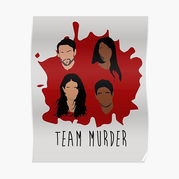 Team Murder Poster